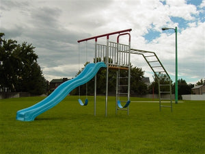 T-Swing Climber with Deck and Slide