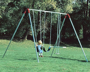 10' A-Frame Swing with optional Glider - Trampolines.com