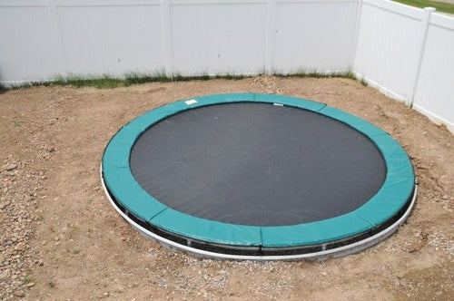 14' Round Trampoline | 14' Round Trampoline with Inground Kit
