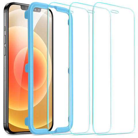 "RAEGR SHIELD by ESR iPhone 12 / 12 Pro 5G - 6.1"" Tempered Glass (Pack of 3)"