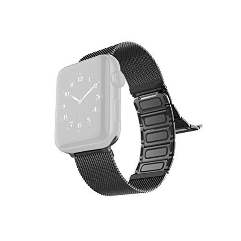 RAPTIC by X-Doria Apple Watch (40mm / 38mm) (Smaller Version) (Series 6/5/4/3/2/1) Hybrid Mesh Band