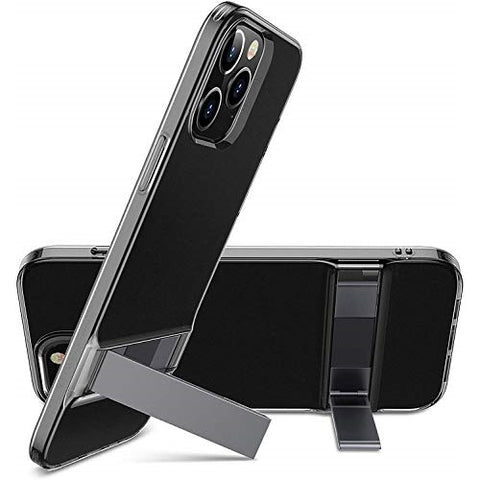 "RAEGR SHIELD by ESR iPhone 12 / 12 Pro 5G - 6.1"" Case Air Shield Boost - Metal Kickstand"