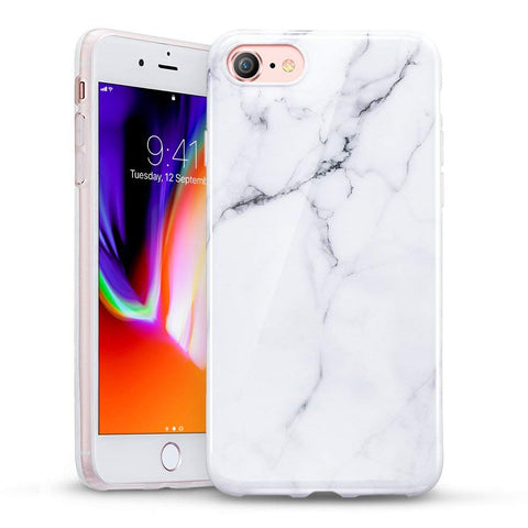RAEGR SHIELD by ESR iPhone 8/7 Case Marble