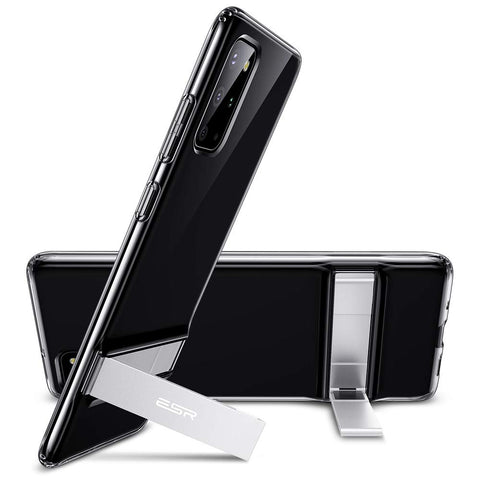 RAEGR SHIELD by ESR Galaxy S20 Plus Case Air Shield Boost - Metal Kickstand