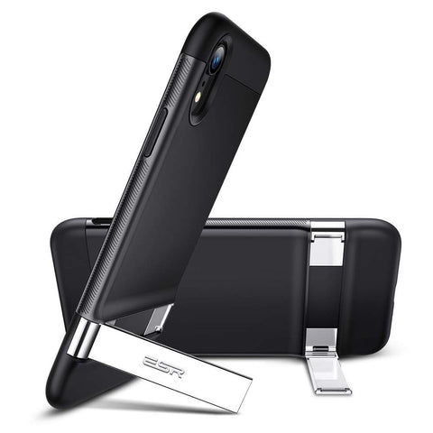 RAEGR SHIELD by ESR iPhone XR Case Simplace Metal Kickstand