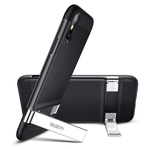 RAEGR SHIELD by ESR iPhone Xs Max Case Simplace Metal Kickstand