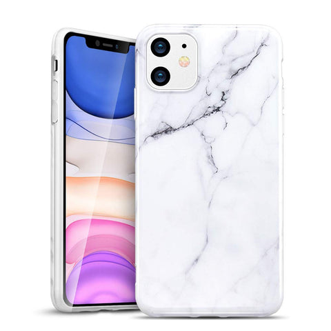 RAEGR SHIELD by ESR iPhone 11 Case Marble Pattern