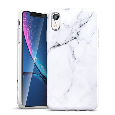 RAEGR SHIELD by ESR iPhone XR Case Marble