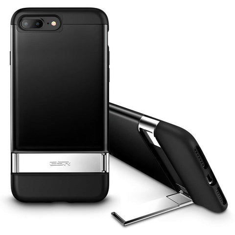 RAEGR SHIELD by ESR iPhone 8 Plus/7 Plus Case Simplace Metal Kickstand