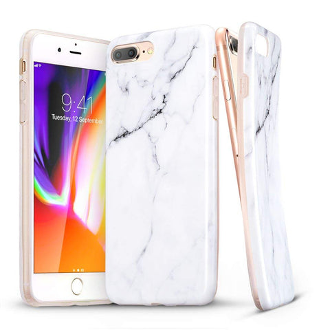 RAEGR SHIELD by ESR iPhone 8 Plus/7 Plus Case Marble