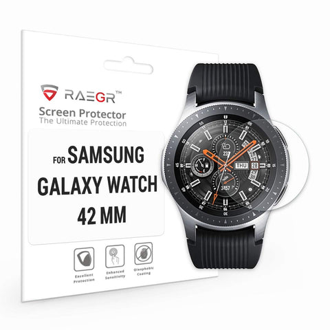 RAEGR Galaxy Watch - 42mm Glas HD 2.5D (Regular) Tempered Glass