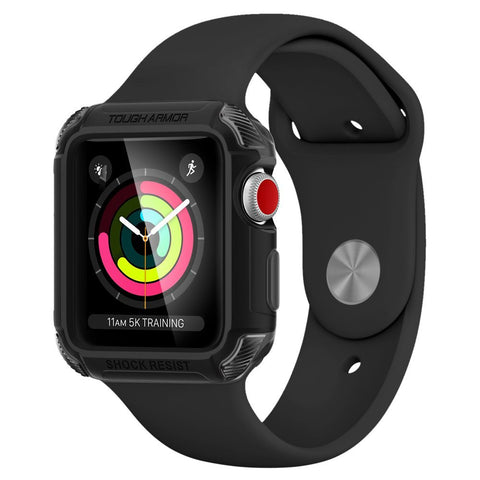 Spigen Apple Watch ( SERIES 3 / SERIES 2 / SERIES 1 ) Case/Cover Rugged Armor (38mm)