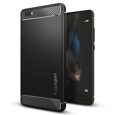 Spigen Huawei P8 Lite Case Rugged Armor Black