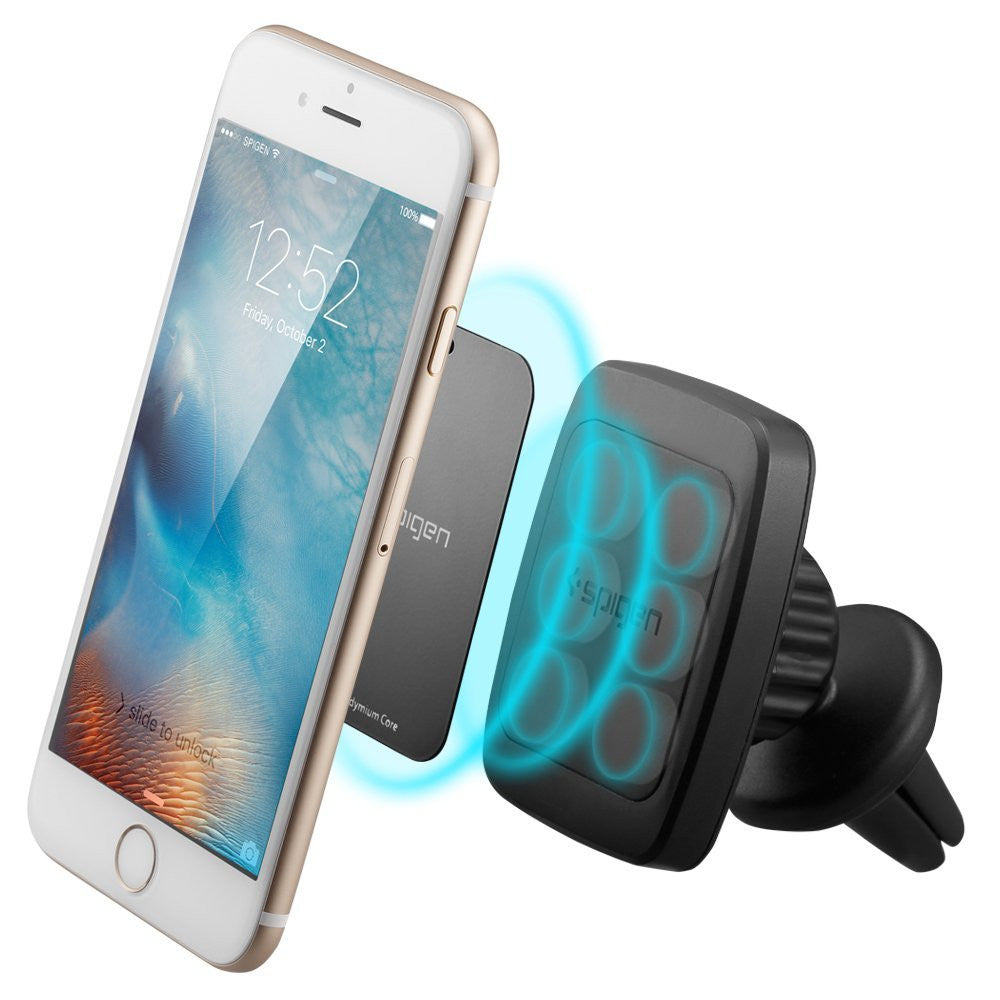 Spigen Premium Air Vent Magnetic Universal Car Mount Holder for Large Phones
