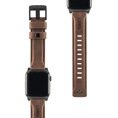 UAG Apple Watch (44mm / 42mm) Leather Strap