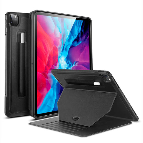 "RAEGR SHIELD by ESR iPad Pro 12.9"" (4th Gen, 2020) & Also Fits iPad Pro 12.9"" (3rd Gen, 2018) Case Sentry Stand"