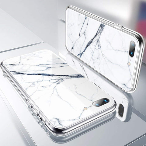 RAEGR SHIELD by ESR IPhone 8 Plus/7 Plus Case Mimic-Marble