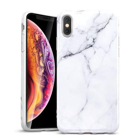 RAEGR SHIELD by ESR iPhone Xs/X Case Marble
