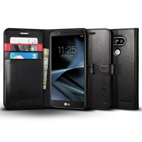 Spigen Case Wallet S Black for LG G5