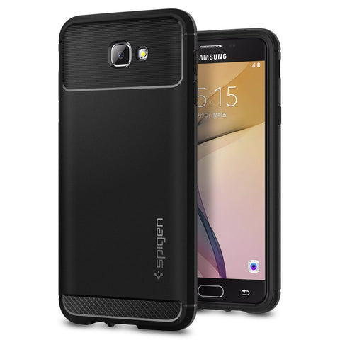 Spigen Samsung Galaxy J5 Prime / Galaxy On5 (2016) Case Rugged Armor Black 569CS21000