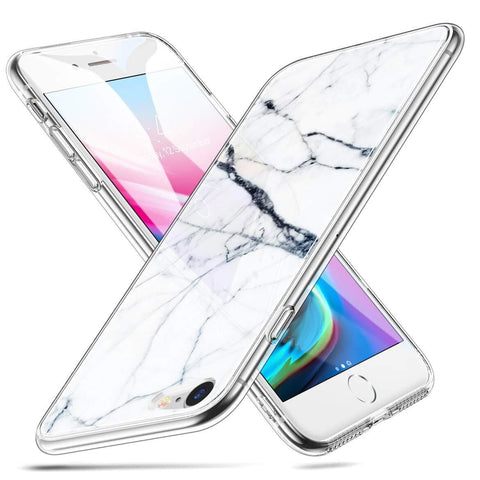 RAEGR SHIELD by ESR IPhone 8/7 Case Mimic-Marble