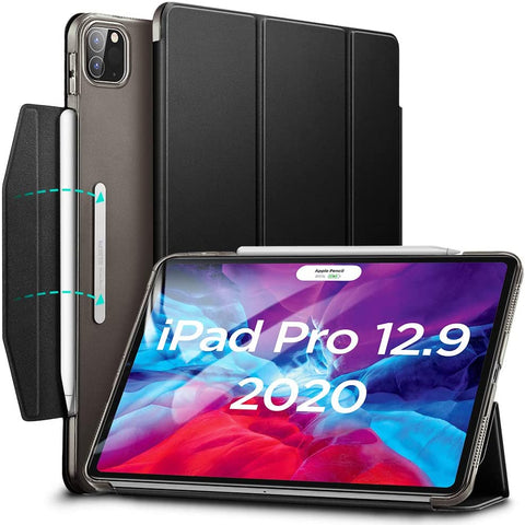 "RAEGR SHIELD by ESR iPad Pro 12.9"" (4th Gen, 2020) & Also Fits iPad Pro 12.9"" (3rd Gen, 2018) Case Yippee Color Trifold Smart"