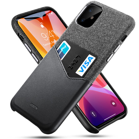 RAEGR SHIELD by ESR iPhone 11 Case Metro Wallet (Card Holder)