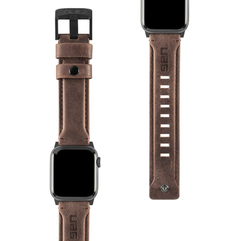 UAG Apple Watch (40mm / 38mm) (Smaller Version) (Series 5/4/3/2/1) Leather Strap