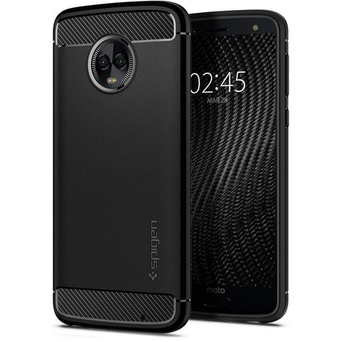 Spigen Moto G6 Plus Case Rugged Armor