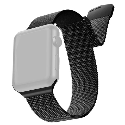 RAPTIC by X-Doria Apple Watch (44mm / 42mm) Bigger Version, Series 6/5/4/3/2/1 Hybrid Mesh Band