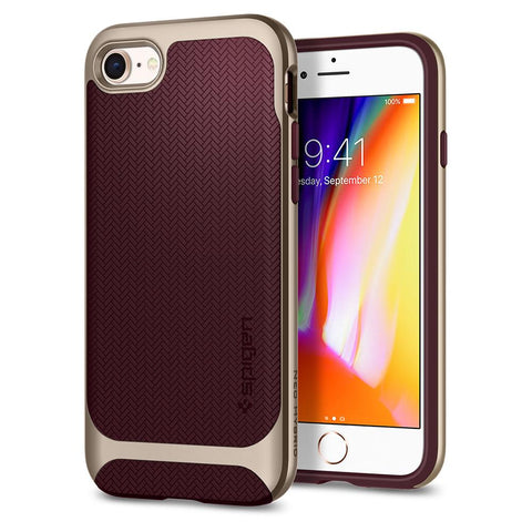 Spigen iPhone 8 / iPhone 7 Case Neo Hybrid Herringbone