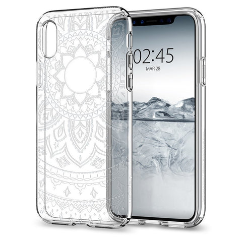 Spigen iPhone X (2017) Case Liquid Crystal Shine