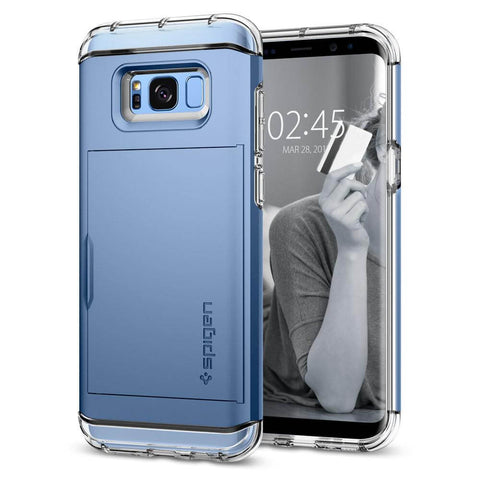 Spigen Galaxy S8 Plus Case Crystal Wallet