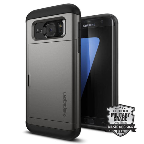 Spigen Galaxy S7 Edge Case Neo Hybrid Crystal
