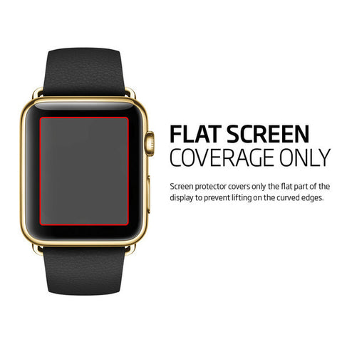 Spigen Apple Watch (SERIES 1 / SERIES 2) Screen Protector Crystal (42mm)