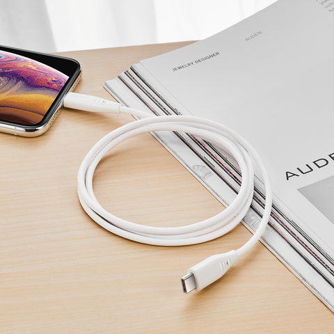 RAEGR SHIELD by ESR USB C to Lightning Power Delivery Cable
