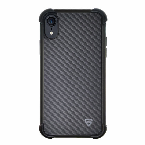 RAEGR iPhone XR Elements Armor Protective Case/Cover with Real Aramid Carbon Fiber