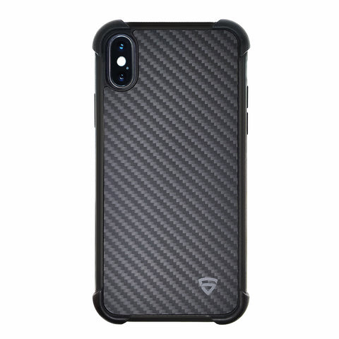 RAEGR iPhone Xs/X Elements Armor Protective Case/Cover with Real Aramid Carbon Fiber
