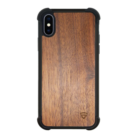 RAEGR iPhone Xs Max Elements Armor Protective Case/Cover with Real Wood