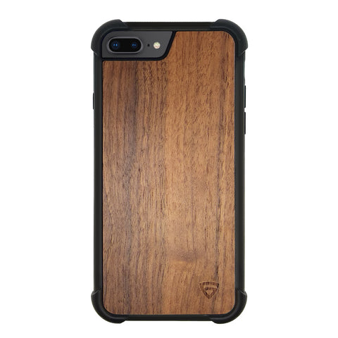 RAEGR iPhone 8/7/6/6s Plus Elements Armor Protective Case/Cover with Real Wood