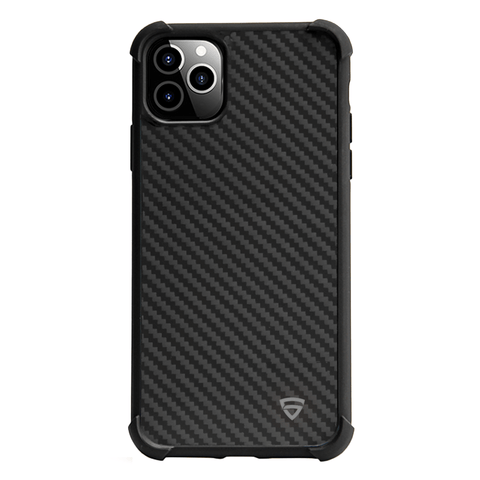 RAEGR iPhone 11 Pro Elements Armor Protective Case/Cover with Real Aramid Carbon Fiber