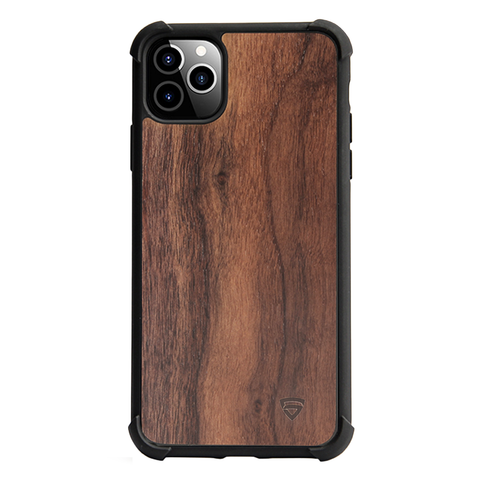 RAEGR iPhone 11 Pro Max Elements Armor Protective Case/Cover with Real Wood