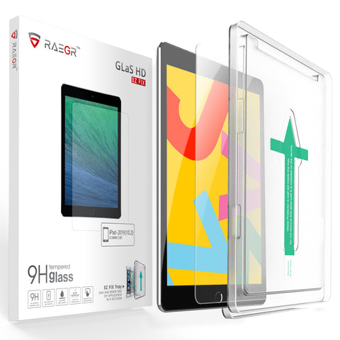 "RAEGR EZ Fix Glas HD iPad 10.2"" (8th Gen, 2020 & 7th Gen, 2019) Tempered Glass"