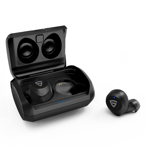 RAEGR AirShots 550 TWS Wireless Bluetooth Earbuds with Charging Case
