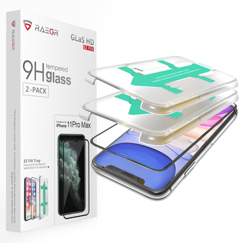 RAEGR EZ Fix Glas HD iPhone 11 Pro Max/XS Max Tempered Glass