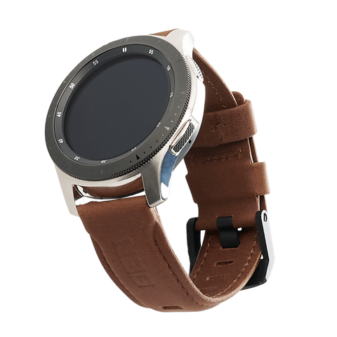 UAG Galaxy Watch 46mm Case Leather Strap