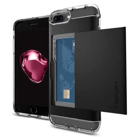 Spigen iPhone 7 Plus Case Crystal Wallet