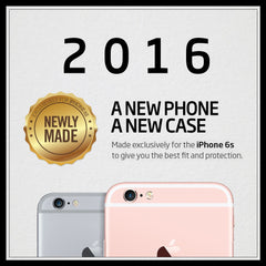 iPhone 6s Plus Case Thin Fit Hybrid