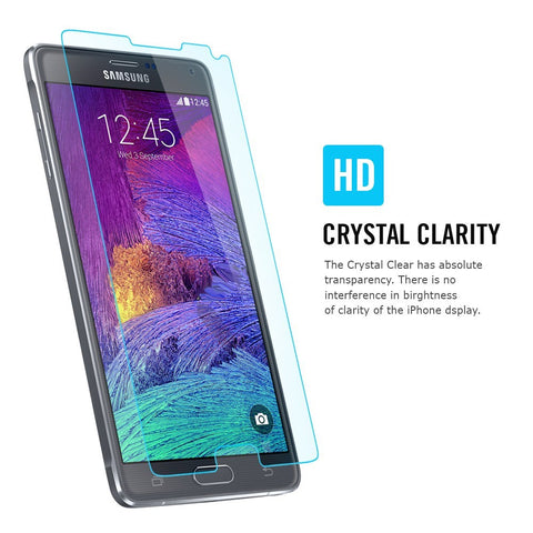 Galaxy Note 4 Screen Protector Crystal