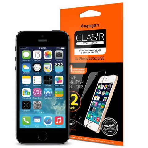 Spigen iPhone SE/5S/5/ 5C Screen Protector GLAS.tR SLIM